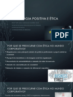 Psicologia Positiva e ética
