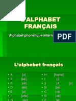 L'ALPHABET  FRANçAIS 1