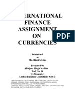 IFS Currency Assignment
