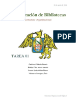 Organización de Biblio