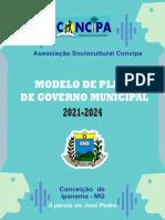 Modelo de Plano de Governo Municipal - 2021-2024