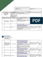 Planificacion diaria 2020 I Unidad F. Católica 1° Ciclo