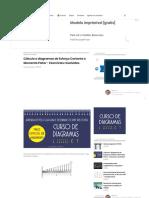 Cálculo e diagramas de Esforço Cortante e Momento Fletor - Exercícios resolvidos