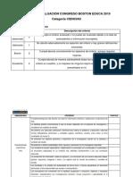 Pauta de evaluación CONGRESO 2019 CIENCIAS VF