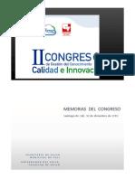Memorias II Congreso