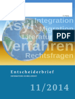 BAMF Entscheiderbrief-11-2014