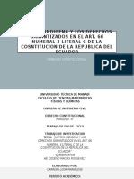 JUSTICIA INDIGENA Y LOS DERECHOS GARANTIZADOS EN EL