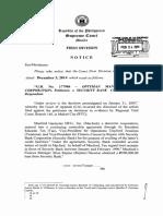 Optyman Mfg Corp v Security Bank GR 177984 Dec 3, 2014
