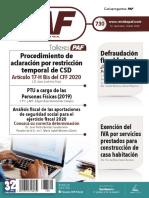 Revista PAF 1RA QUINC. MAR-2020