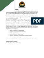 Invitación e información relevante CLECF CHILE 2019