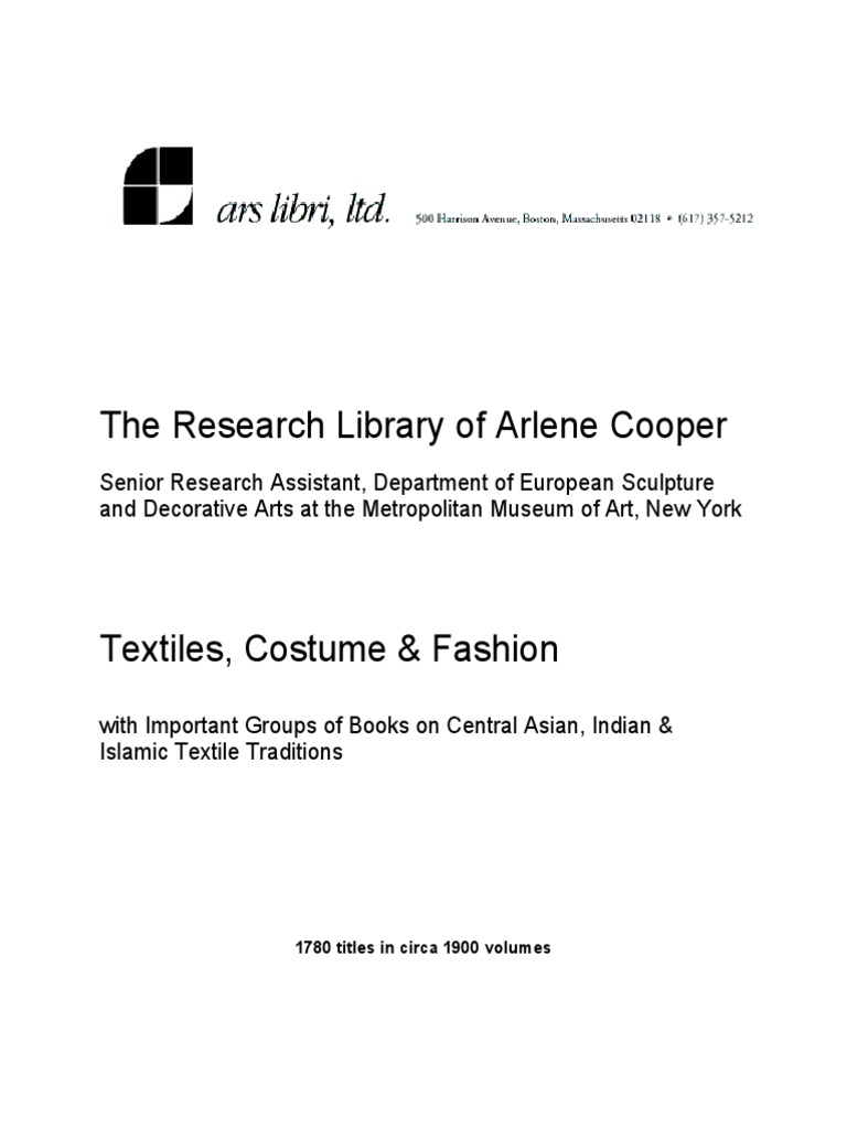 Textiles Costume Fashion With Important Groups Of Books On Central Asian Indian Islamic Textile Traditions Textiles