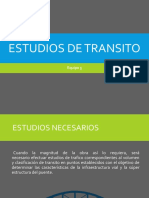 Estudios De Transito