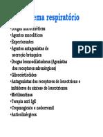 Farmacologia do sistema respiratorio