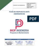 SSO-PRE-DCP-02 Plan de Respuesta ante Emergencias
