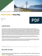 ABAP Platform Road Map