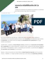 10-11-2019 Héctor Astudillo anuncia rehabilitación de La Quebrada y Sinfonía.