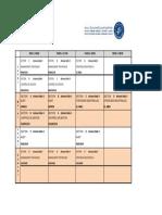 Emploi Du Temps Du S6 Option Gestion (19-20)