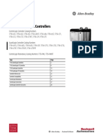 Technical Data - 1756 ControlLogix Controllers - 1756-TD001F-EN-P - August 2012