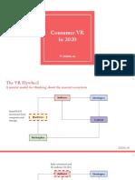 Consumer VR in 2020