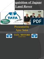 Tata's takeover of Jaguar and Land Rover