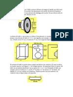 Para disenar cajas ataticas o bafles(impreso)