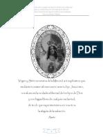 Vestición Virgen de la Merced