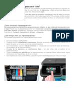 Cómo funciona una impresora de tinta