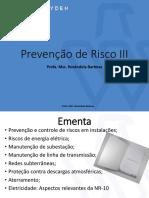 Prevenção de Risco III_Parte I_R