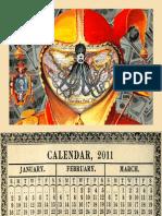 BANZAI7 2011 CALENDAR
