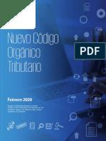 NUEVO CÓDIGO ORGÁNICO TRIBUTARIO-2020