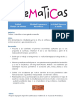 Artematicas sesion 1