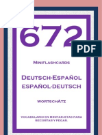 Flashcards Aleman