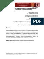 Evaluación preliminar de la operatividad de un programa de posgrado