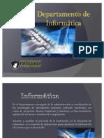 DEPARTAMENTO DE INFORMATICA 2010