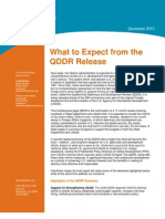 12-10 Policy Brief - What to Expect From the QDDR