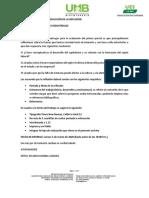 LINEAMIENTOS DEL EXAMEN 1er parcial LP 181