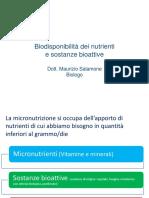 Micronutrizione Generale