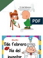Efemérides Anuales México y algunas Internacionales