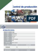 1.- Control de producción