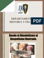 absolutismo al despotismo ilustrado.ppt