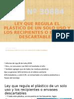 1° EXPOSICIÓN_Ley que regula el plastico de un solo uso