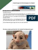 Schweinegrippe-Impfstoff