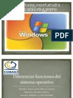 Diferenciar Funciones Del Sistema Operativo Charl