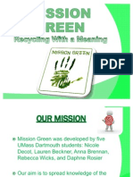 Mission Green Power Point