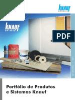 portfólio de produtos e sistemas knauf