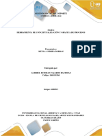 Unidad 1 Fase 2 Herramienta de conceptualización y grafica de procesos.