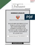 RESOLUCIÓN DIRECTORAL N° 004-2020-MTC/18