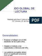 Metodo Global de Lectura