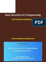 Basic Structure of C Programming