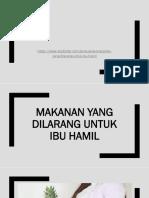 IBU HAMIL DILARANG MAKAN INI.pptx